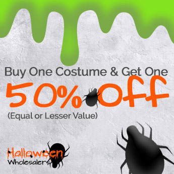 Buy One Costume & Get One 50% Off (Equal or Lesser Value)